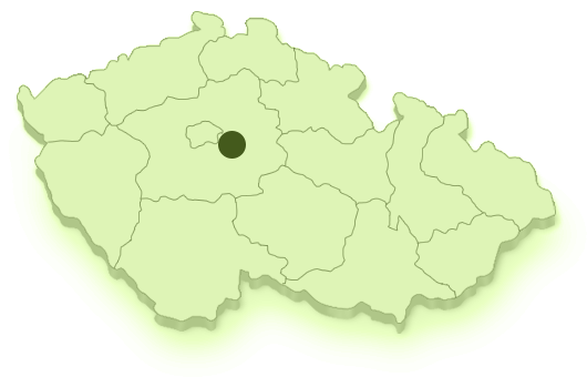 Mapa území MAS Říčansko