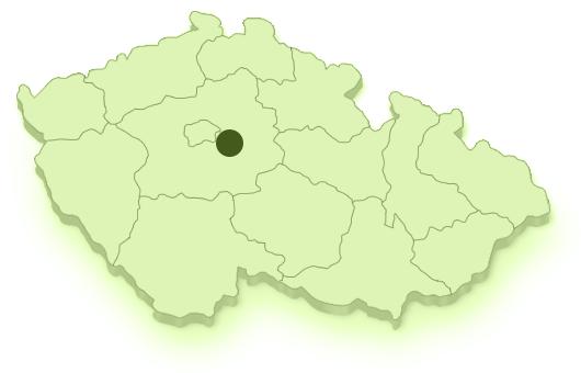 Mapa území MAS Říčansko